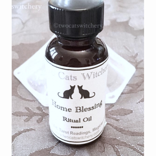 Home blessings oil, smudge sage oil