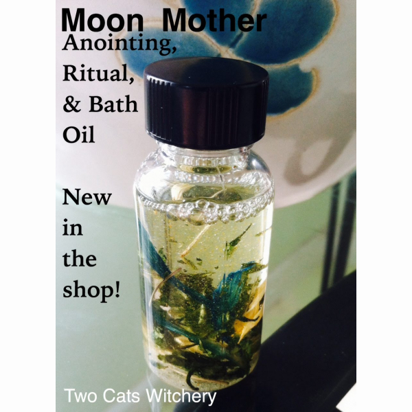 Moon Magick ritual oil