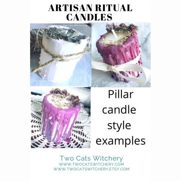 pillar candle style information