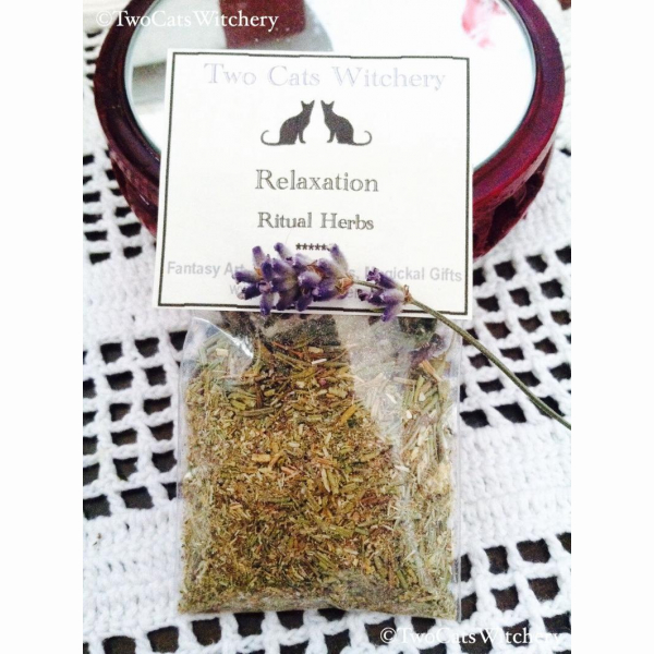 relaxation ritual herbs for relaxing