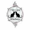 two cats witchery logo