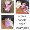 votive candle style information