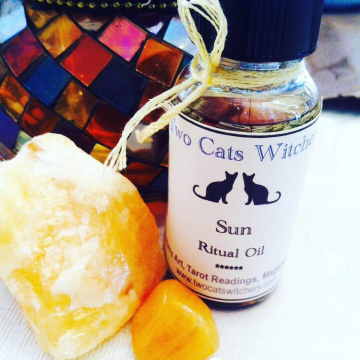 Sun Oil 1 oz Bottle, Honor the Sun, Orange Scent, Cinnamon Oil