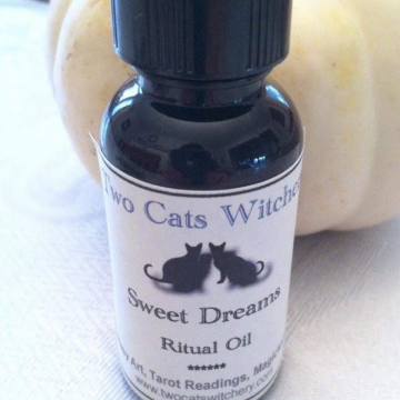 bottle of sweet dreams spell oil