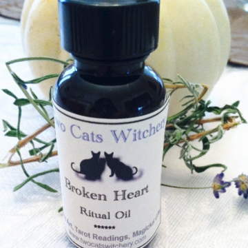 bottle of broken heart oil