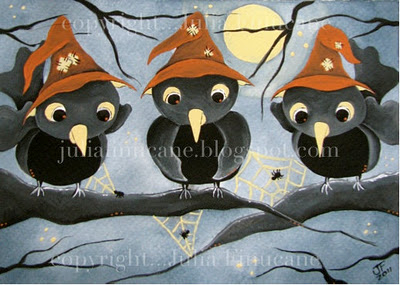 Witchy Sparrows