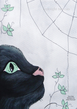 Black Cats and Spider Webs