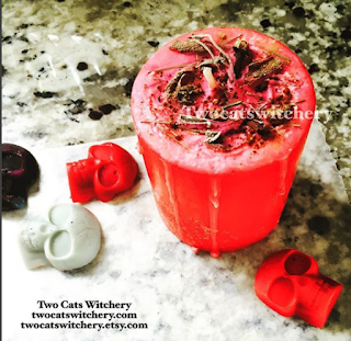 Handcrafted candles and tarts