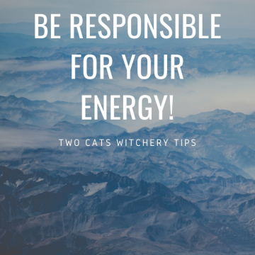 Be Responsible for your Energy