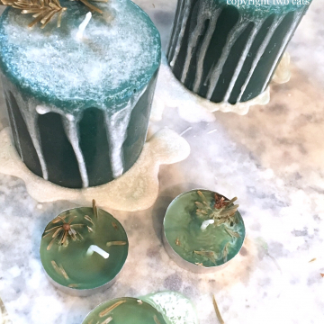Pine and Evergreen Candles