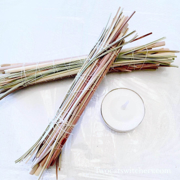 Sweetgrass Cleansing Bundle - Mini Herb Bundle for Energy Cleansing, Banish Negative Energy