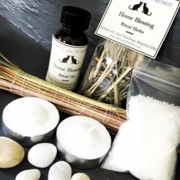 Home Blessing Kit to Energy Cleanse and Bless your Home