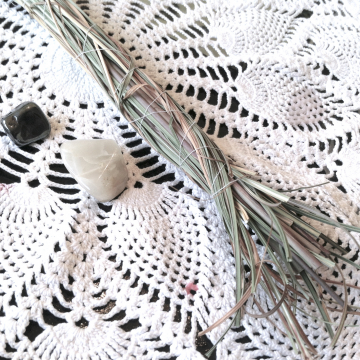 Sweetgrass Bundle - Cleansing Herb Bundle for Energy Clearing and Banishing Negative Energy
