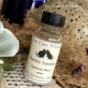 Psychic Intuition Brew for Divination, Spirit Work, Tarot Readings