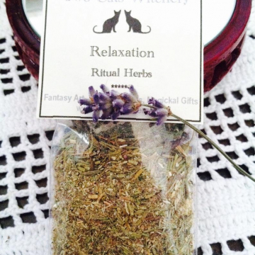 Relaxation Herbs. 2x3 inch bag, For Relaxation
