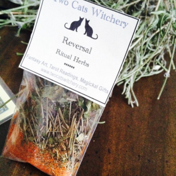 Reversal Ritual Herb | Natural Incense Herbs for Reversal Spell Magick