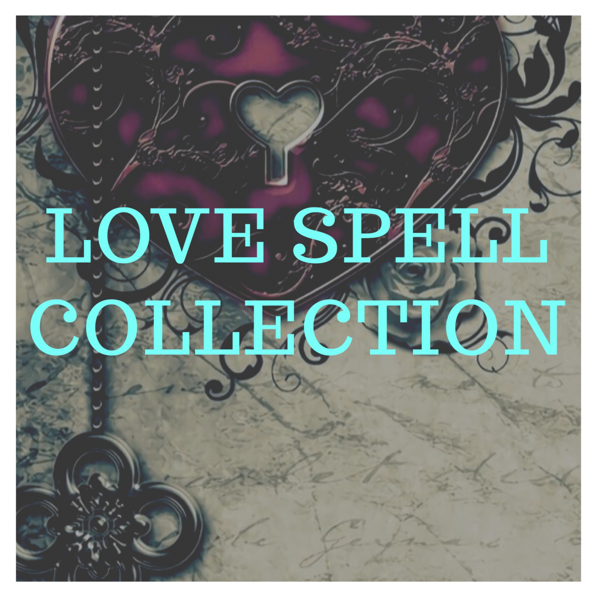 love spell collection banner two cats witchery